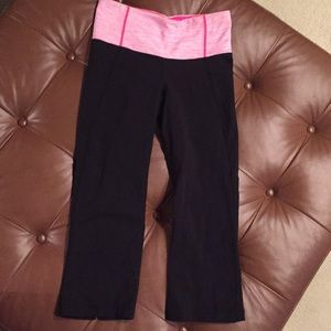 Lululemon size 4 yoga capris-excellent condition